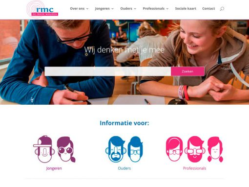 Website RMC de Friese Wouden